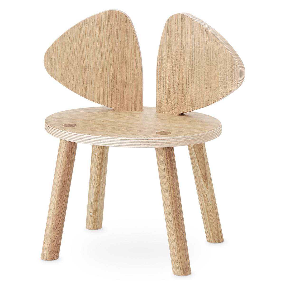 Nofred Chaise Mouse - Chêne