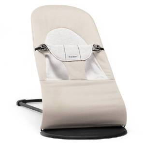 BabyBjörn Transat Balance Soft Coton Jersey - Beige et Gris