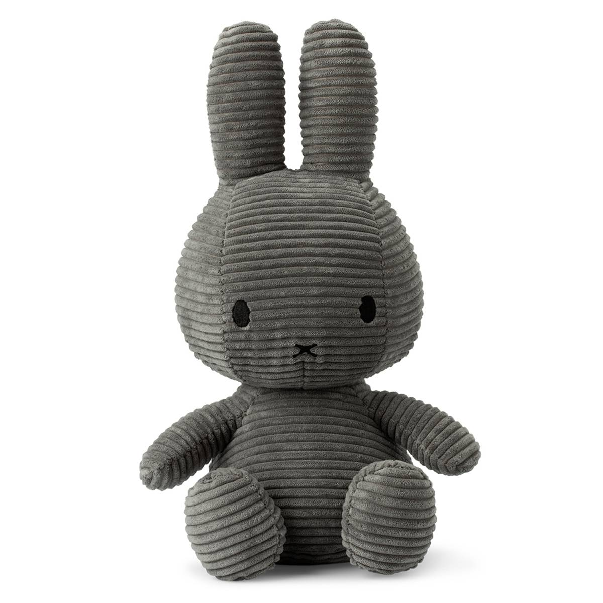 nijntje Peluche Lapin Miffy Anthracite - Grand