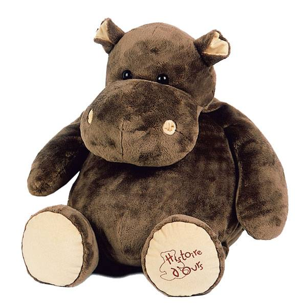 Histoire d'Ours Histoire d'Ours Peluche Hippo - Grand