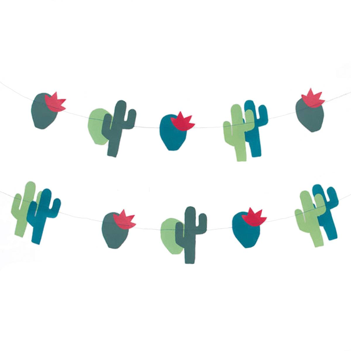 My Little Day Guirlande en Papier - Cactus
