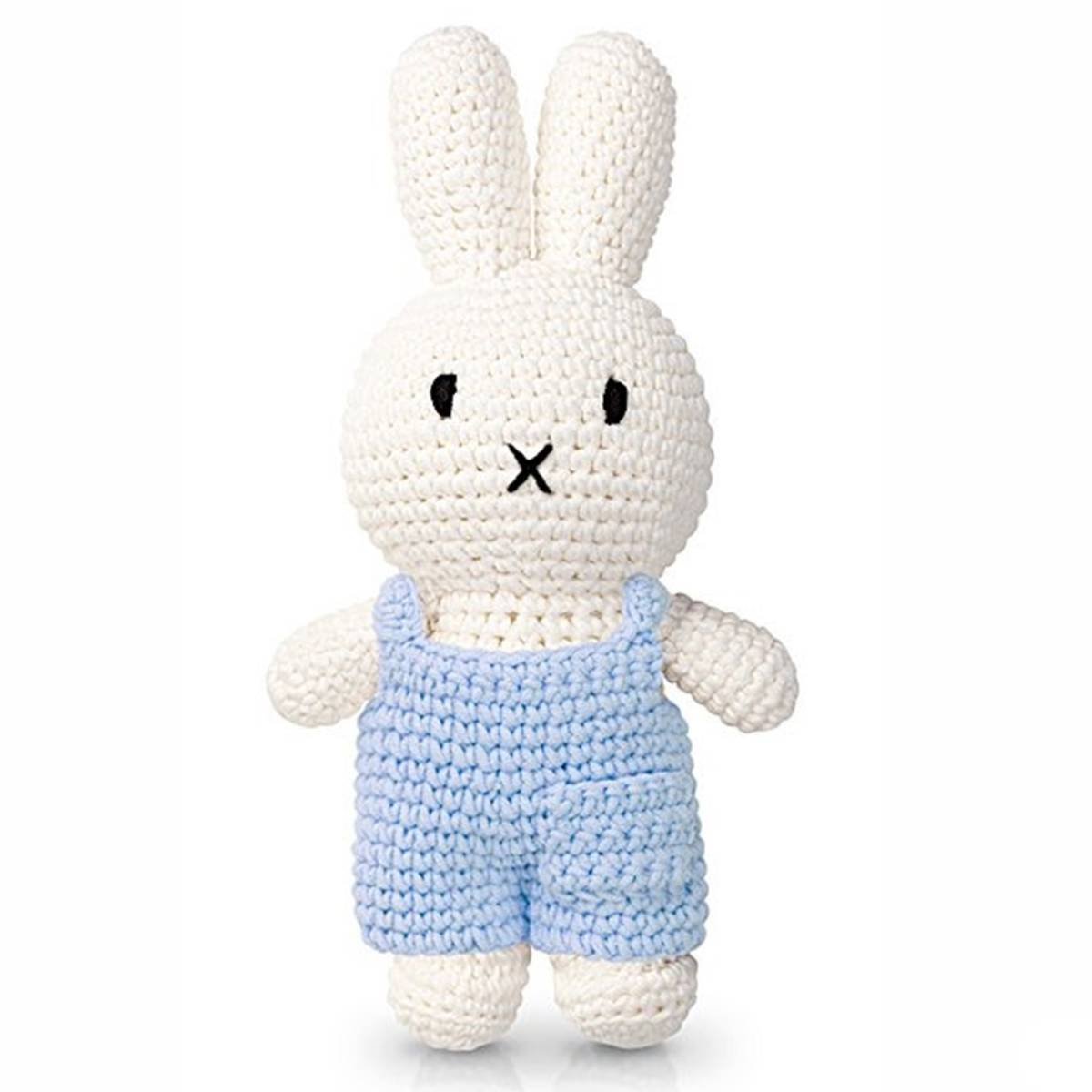 Just Dutch Miffy Salopette Bleu Pastel