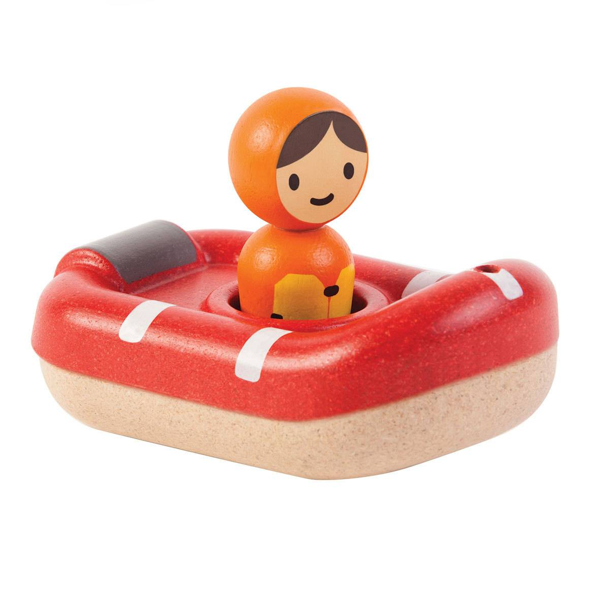 Plan Toys Mon Bateau de Sauvetage