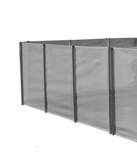 Clôture Filet Piscine - Longueur cloture piscine - 2 m