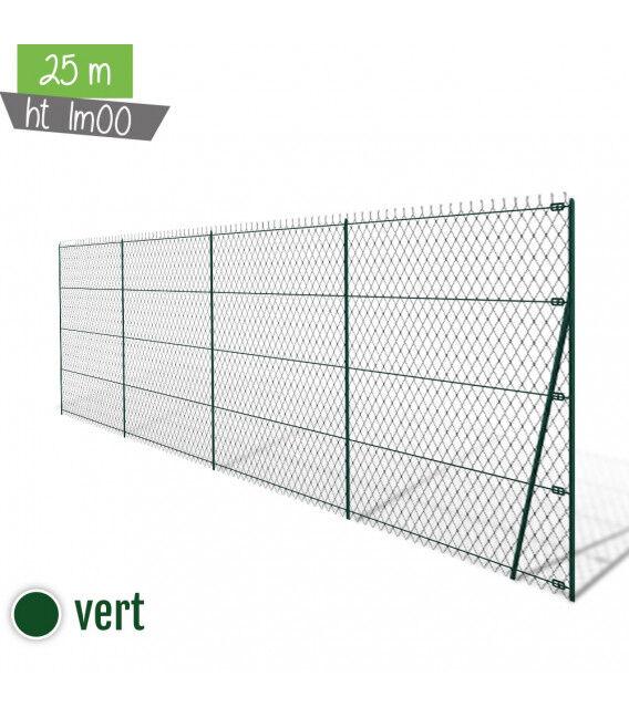 Kit simple torsion ht 1m00 VERT 25ML - Couleur - Gris 7016