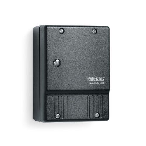 STEINEL NightMatic 2000 Interrupteur crépusculaire 1000W IP54 noir - 550318 - Steinel