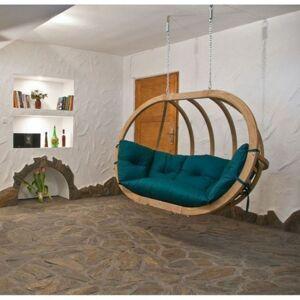AMAZONAS Chaise suspendue Vert en bois Globo Royal Amazonas