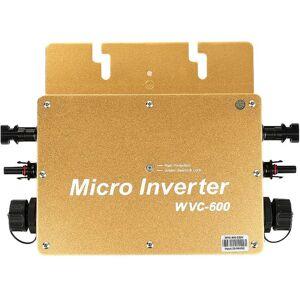 OOBEST Onduleur Solaire WVC600W 230V Étanche IP65 Or