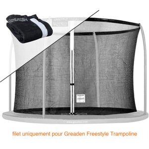 GREADEN Filet de sécurité [PAS Trampoline entier] et Protection 180cm Haute
