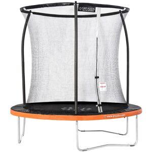 GREADEN Trampoline de jardin Freestyle Orange 250 fitness extérieur Ø