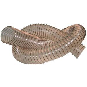 PRESTAMAT 10 M de tuyau flexible d'aspiration bois D. 150 mm spire acier cuivré
