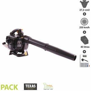 Texas - Aspirateur broyeur souffleur de feuilles thermique 27,2cm3 250