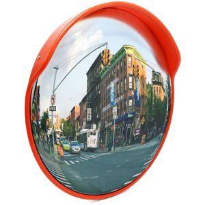WILTEC Miroir extérieur de circulation convexe 45cm Sécurité routière Outdoor
