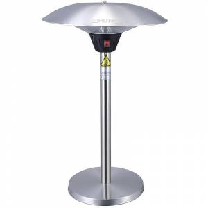 GREADEN Chauffage de Table Infrarouge MERCURY – Parasol Chauffant Mobile et