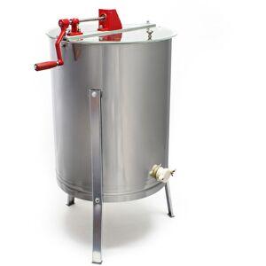 WILTEC Extracteur de miel manuel 4 Cadres Cadre à fils DNM