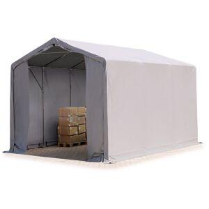Intent24.fr - 4x6m hangar INTENT24, PVC d'env. 550 g/m², H. 3m avec