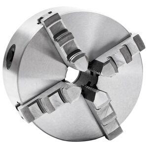 vidaXL Mandrin de tour auto-centrant à 4 mâchoires 125 mm Acier