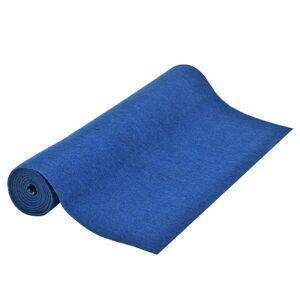 vidaXL Gazon artificiel avec picots 10x1 m Bleu