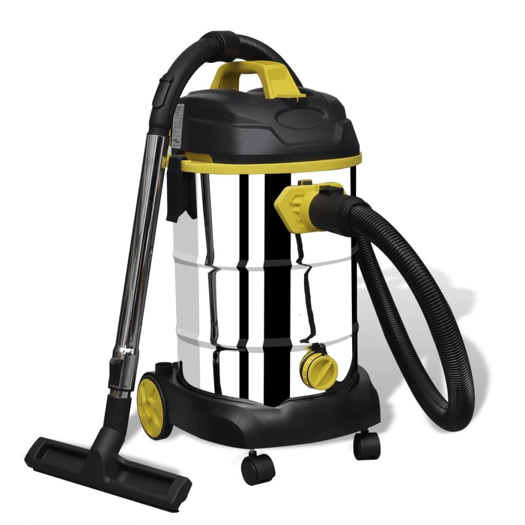 vidaXL Aspirateur à nettoyage humide / sec 1380 W