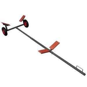 vidaXL Remorque chariot de mise à l'eau 320 cm charge 160 kg max
