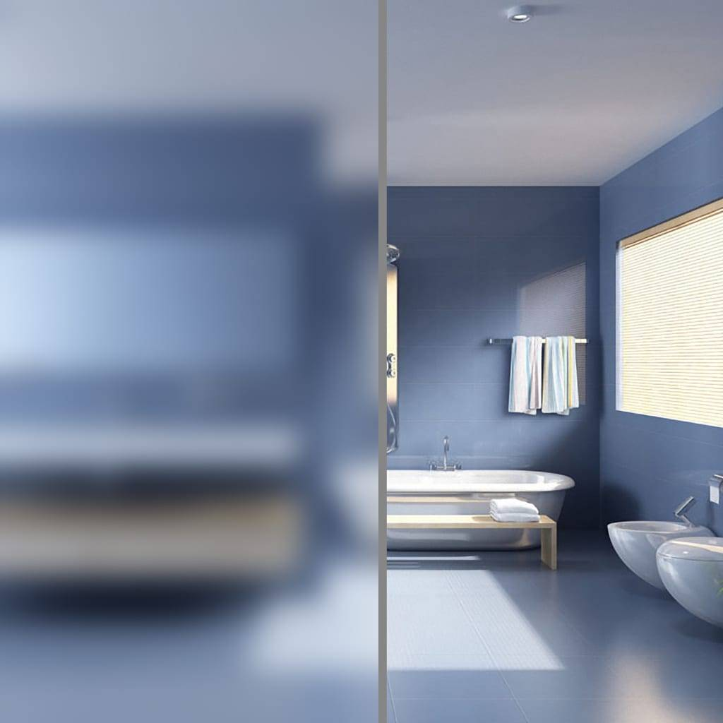 vidaXL Film autoadhésif d'intimité pour fenêtre Verre laiteux 0,9x50 m