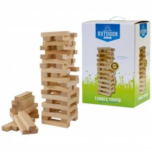 OUTDOOR PLAY Jeu Tumble Tower en bois
