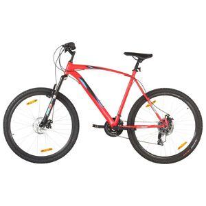 vidaXL Vélo de montagne 21 vitesses Roues 29 pouces Cadre 58 cm Rouge