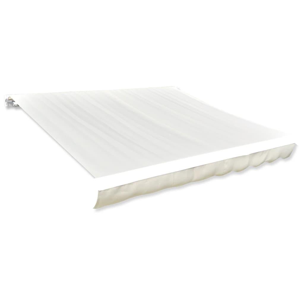 vidaXL Toile d'auvent Crème 6 x 3 m (cadre non inclus)
