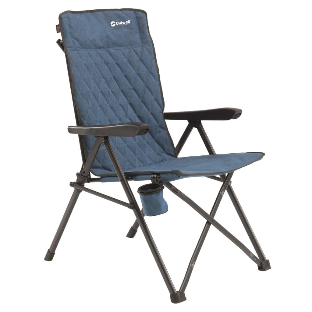 Outwell Chaise de camping pliable Lomond Bleu