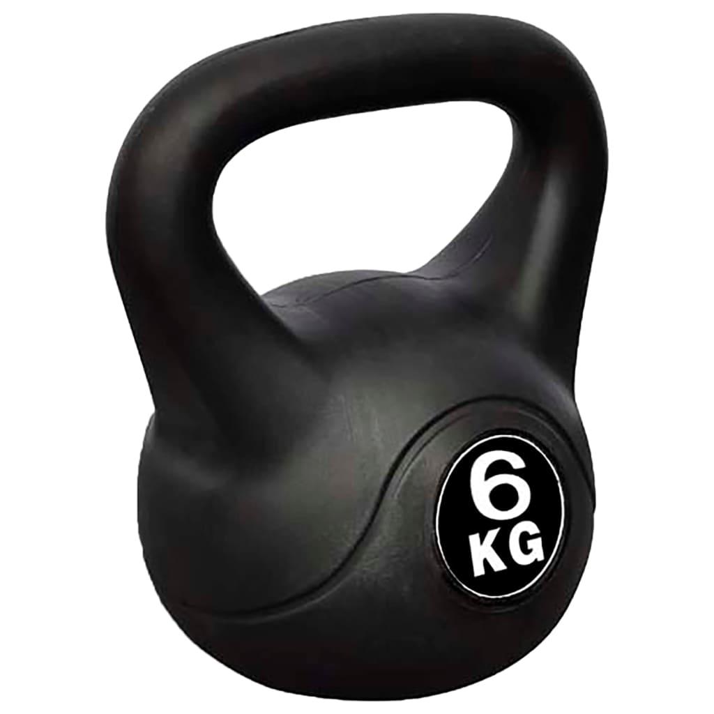 vidaXL Kettlebell de 6 kg