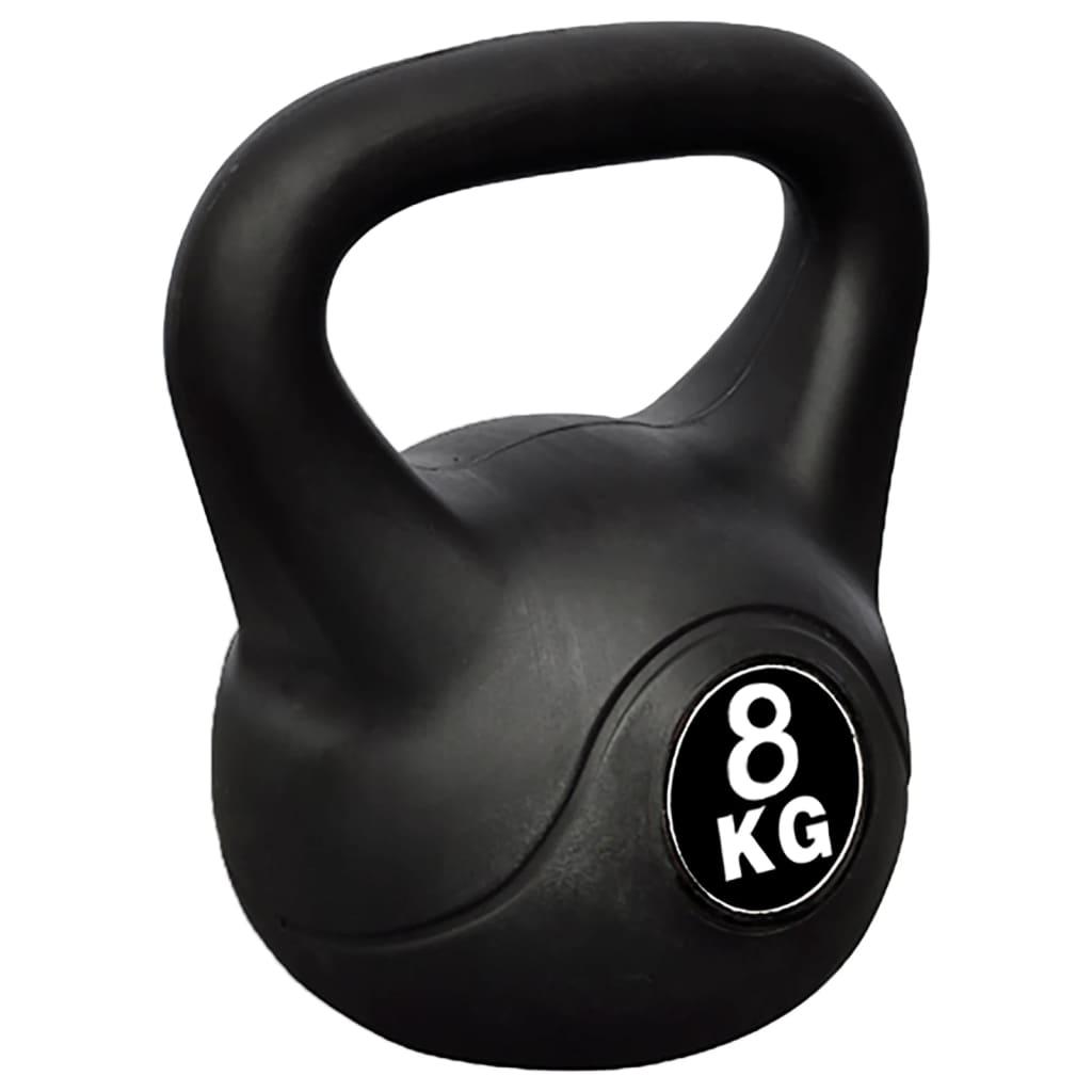 vidaXL Kettlebell de 8 kg