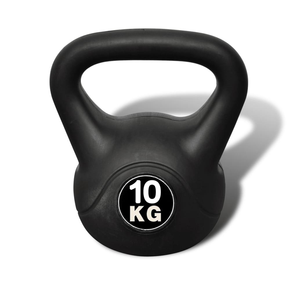 vidaXL Kettlebell de 10 kg
