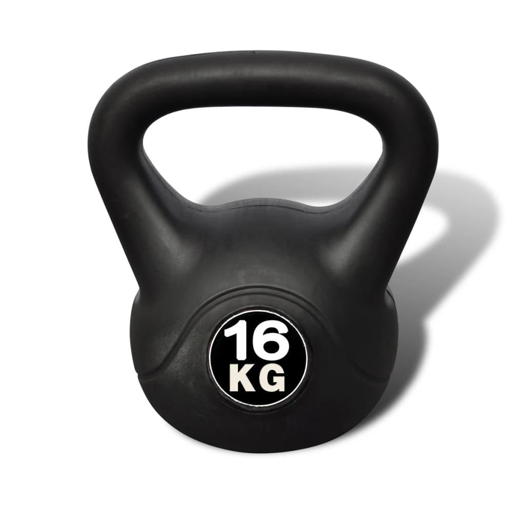 vidaXL Kettlebell de 16 kg