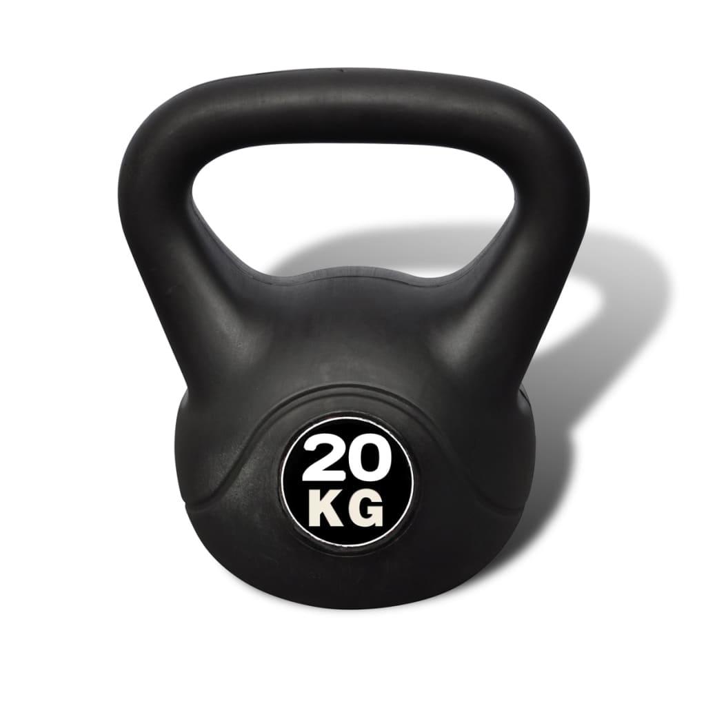 vidaXL Kettlebell de 20 kg
