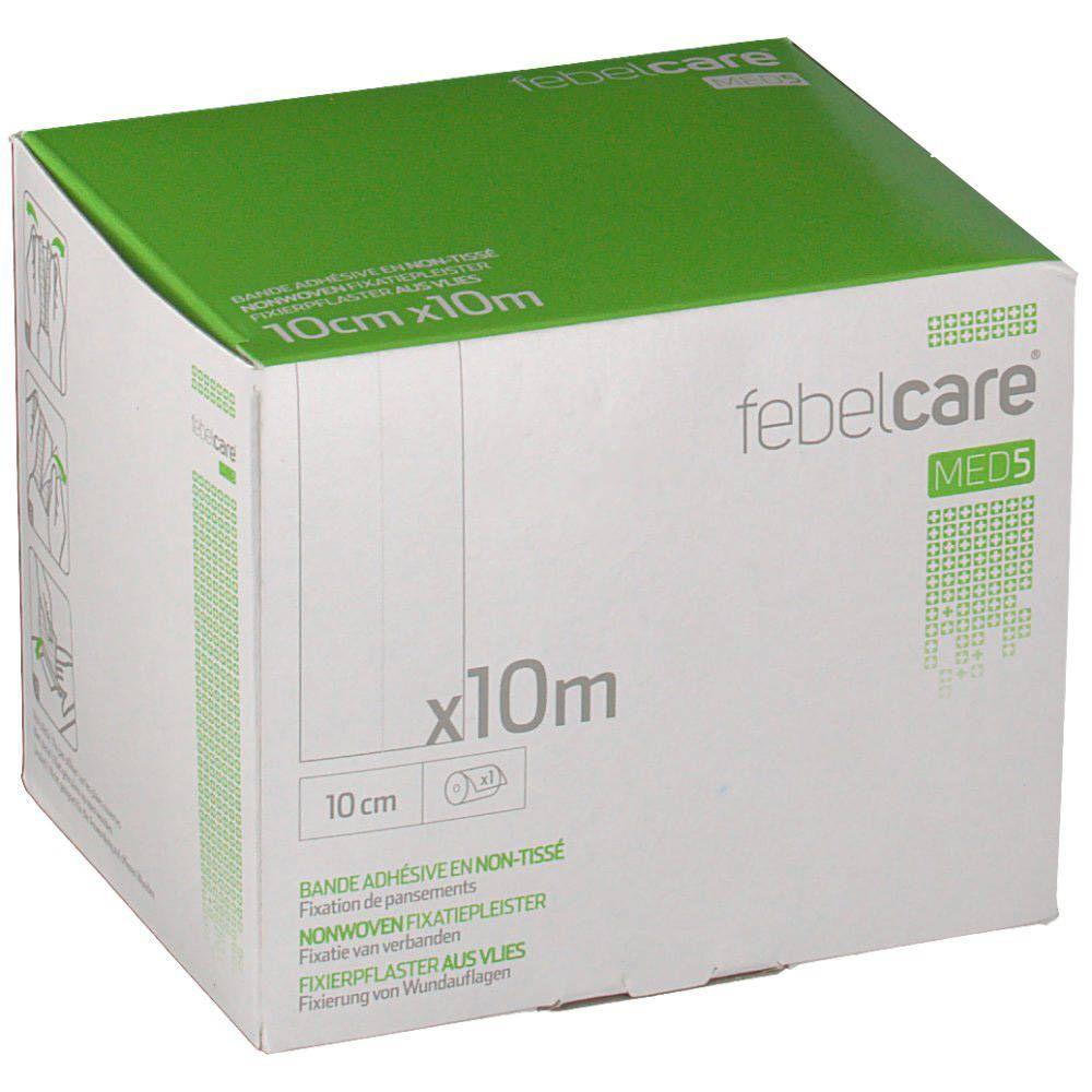 Axone Pharma T3 Febelcare Pansement Adhésif Pour Fixation NW 10cmx10m 1 pièce