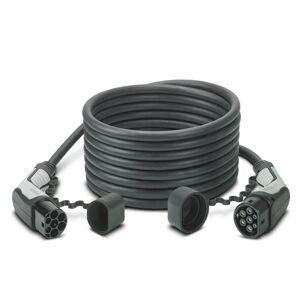 PHOENIX CONTACT Câble de recharge - type2 - type2 - 10m - 22kW (triphasé 32A) - Réf. 1628201 + Sac