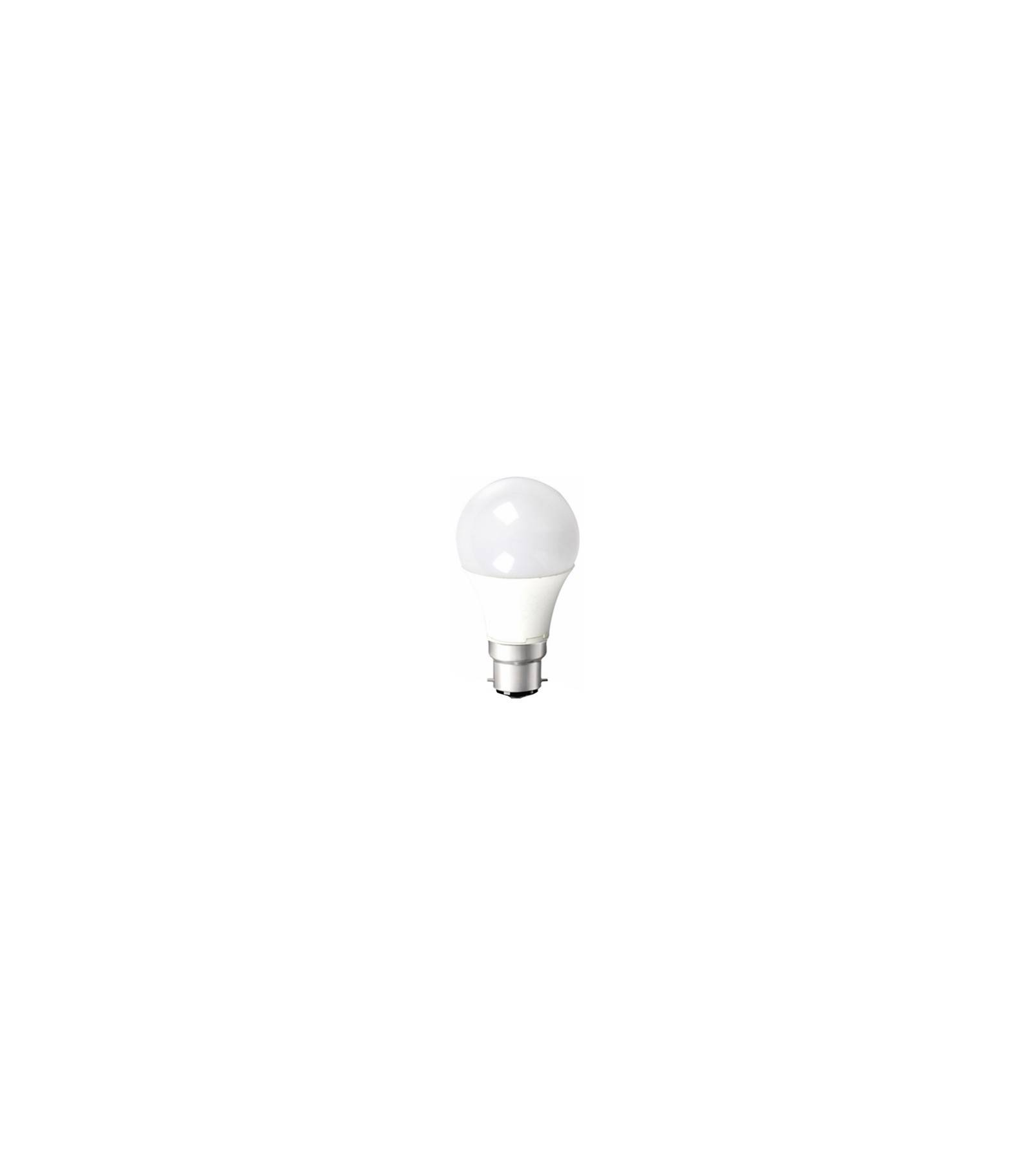 V-TAC Ampoule LED SMD 220V Culot B22 12W rendu 10W équivalent 60W Blanc chaud 3000K A60 ref 4442 V-TAC - 4442