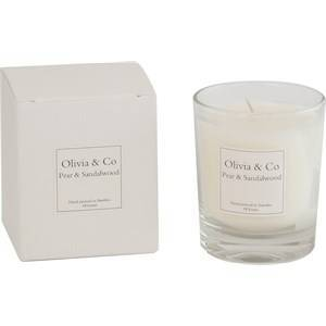 Olivia & Co Room Fragrance Geurkaarsen Pear & Sandalwood Small 1 Stk.