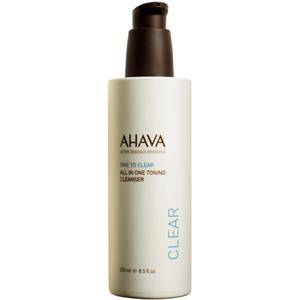 Ahava Gezichtsverzorging Time To Clear All in One Toning Cleanser 250 ml