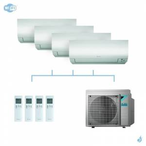 DAIKIN climatisation quadri split mural gaz R32 Perfera 7,4kW WiFi CTXM15N + FTXM25N + FTXM25N + FTXM25N + 4MXM80N A++