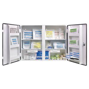 SOEHNGEN Armoire à pharmacie conforme à la norme DIN 13169 à 2 portes, blanc, h x l x p 462 x 604 x 170 mm   SOEHNGEN