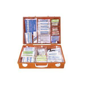 SOEHNGEN Trousse de secours spécialisée contenu adapté aux risques professionnels conforme à la norme DIN 13157   SOEHNGEN