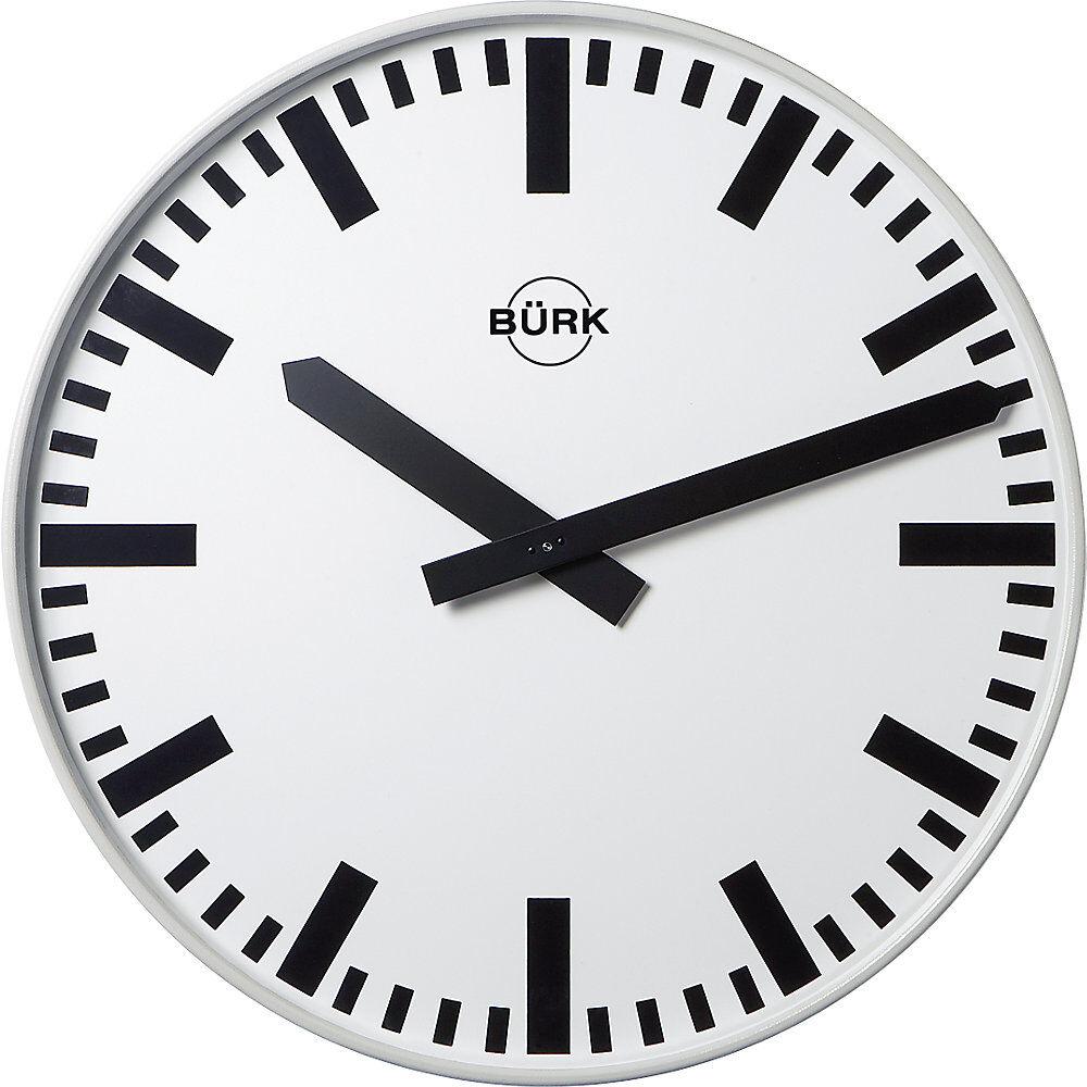 Horloge murale, Ø 500 mm horloge radio-pilotée