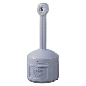 Justrite Cendrier de sécurité en plastique sur pied capacité seau intérieur 15 l   Justrite