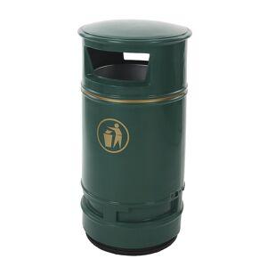 Collecteur de déchets capacité 90 l, h x Ø 990 x 485 mm