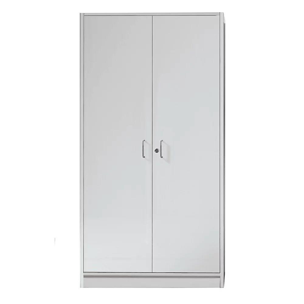 TINO - Armoire à portes battantes 4 hauteurs classeurs