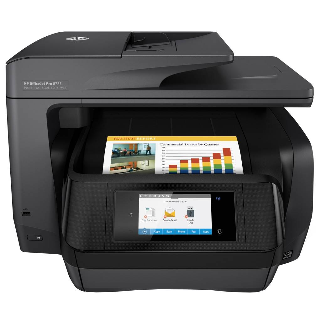 HP OfficeJet Pro 8725 e-Tout-en-Un (K7S35A)