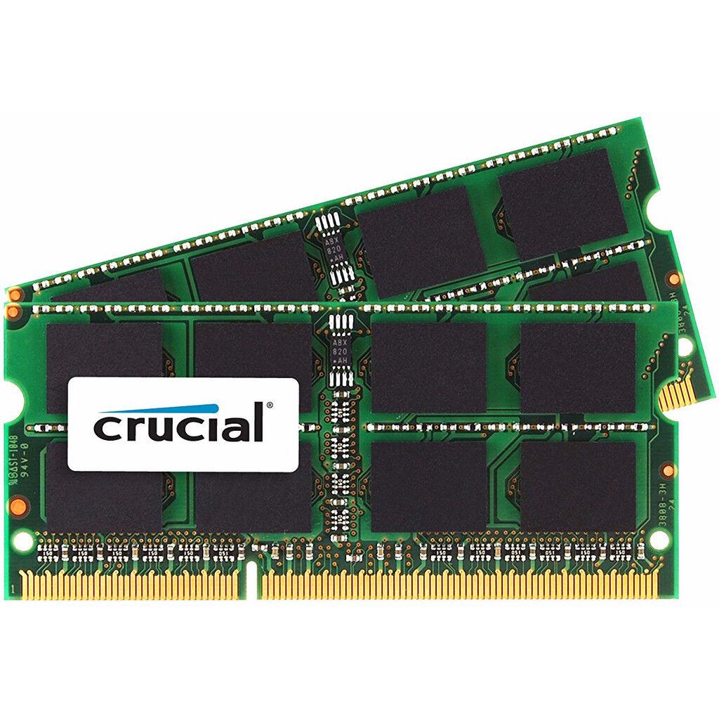 Crucial Apple 8 Go DDR3L SODIMM 1333 MHz (2 x 4 Go)