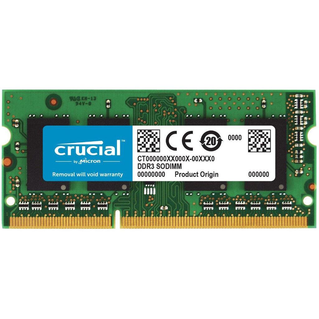 Crucial Apple 8 Go DDR3L-1866 SODIMM 1 x 8 Go