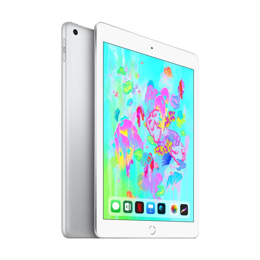 Apple iPad (2018) 128 Go Wi-Fi + 4G Argent